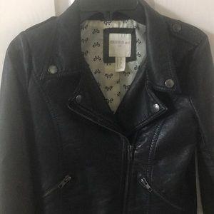 Forever 21 girls Moto jacket sz 9/10